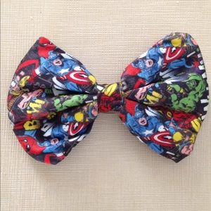 FREE Hair Bow Clip Pin Super Heroes Avengers